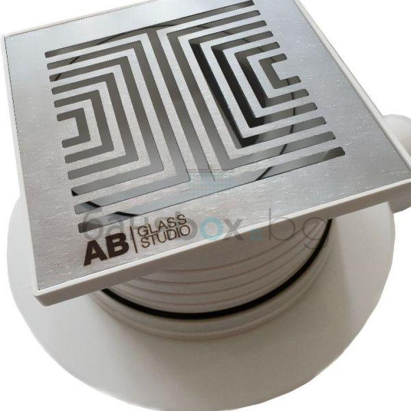 AB GROUP FORTE 10х10 подов сифон за баня
