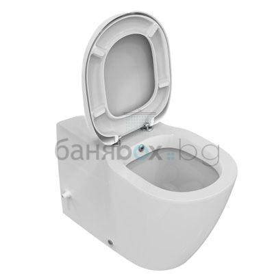 Тоалетна чиния Connect плътно прилепване