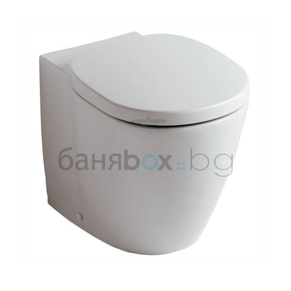 Стояща тоалетна Connect плътно прилепване
