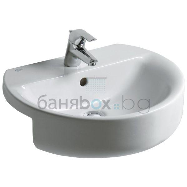 Мивка за баня Connect Sphere за полувграждане
