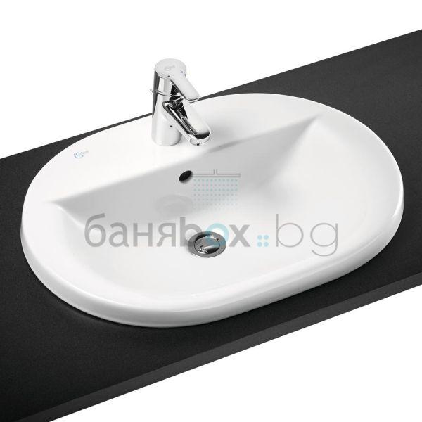 Мивка за баня Connect овална с отвор