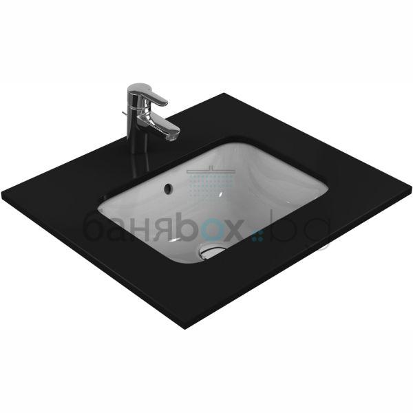 Мивка за баня Connect под плот правоъгънла