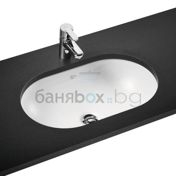 Мивка за баня Connect под плот овална
