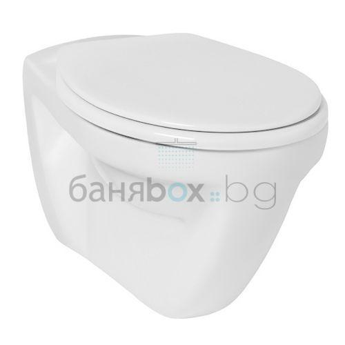Окачена тоалетна Eurovit с медицинско предназначение