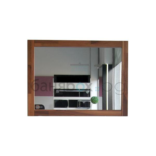 Огледало с рамка орех