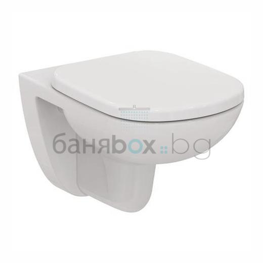 Окачена тоалетна Tempo къса проекция