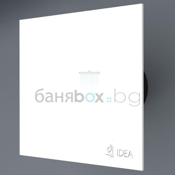 Idea вентилатор за баня бял К 9003