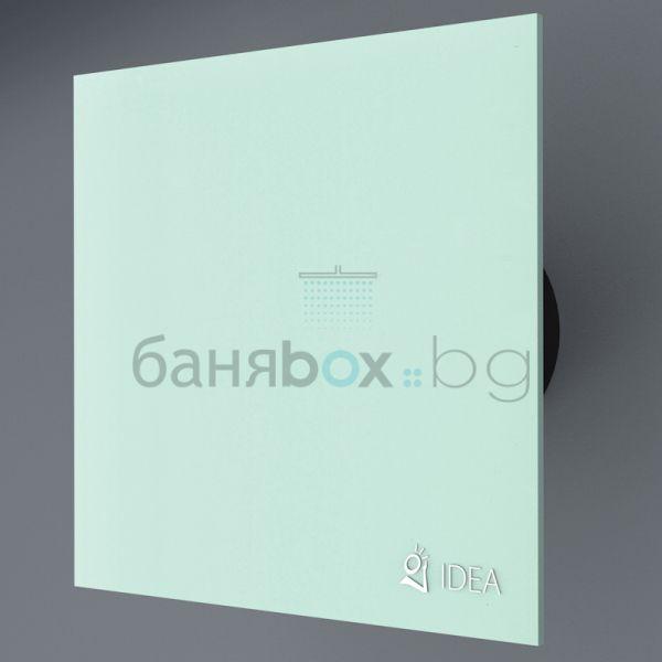 Зелен вентилатор за баня K 1604