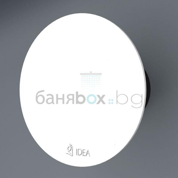 Idea вентилатор за баня бял O 9003