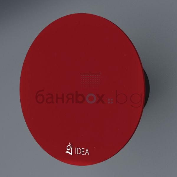 Idea вентилатор за баня червен O 3004