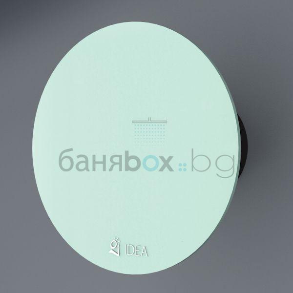 Idea вентилатор за баня О 1604 зелен
