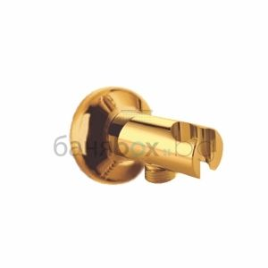 gold water connection holder