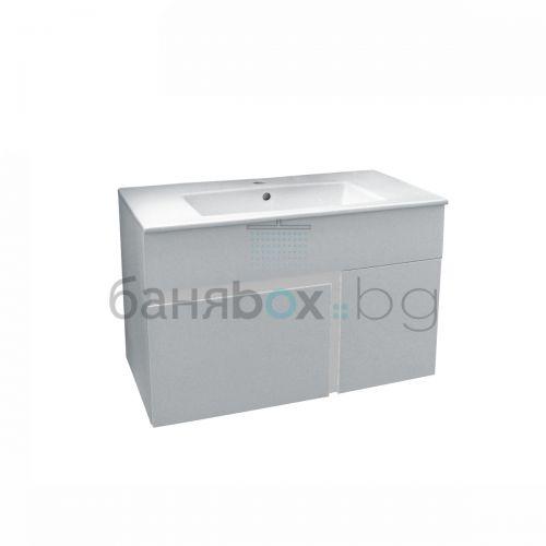PVC шкаф с мивка Kara