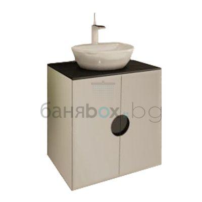 PVC шкаф с мивка Como 2D