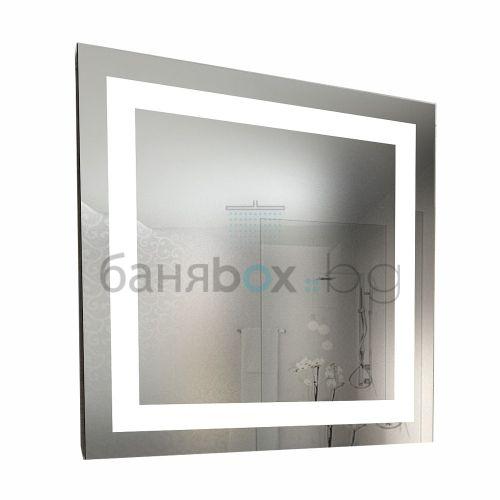 LED огледало Quadro