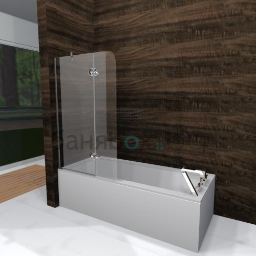 Параван за вана DuoBox Lux