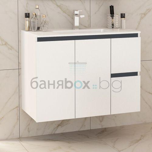 Шкаф за баня Ines Twin 85