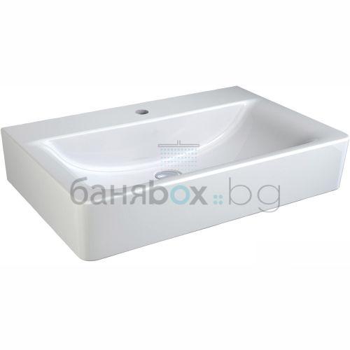 Мивка за баня Connect Cube с отвор