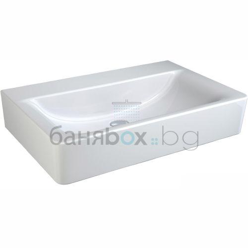 Мивка за баня Connect Cube без отвор