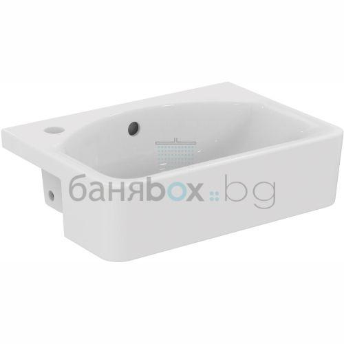 Мивка за баня Connect Cube за полувграждане