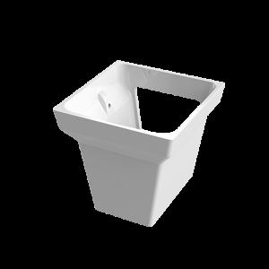 Semi-pedestal Kubik