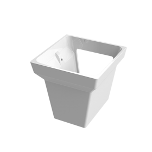 Полупиедестал за мивка Kubik