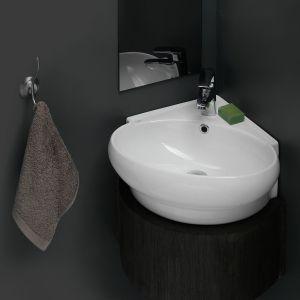 Ъглова мивка за баня Mini Corner 45