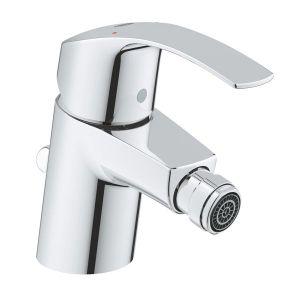 GROHE EUROSMART S смесител за мивка с изпразнител