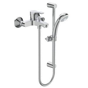 VIDIMA SEVA S комплект с ръчен душ и тръбно окачване