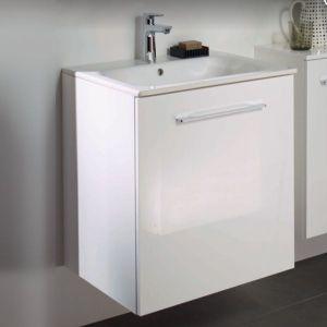 GEBERIT SELNOVA SQUARE 55 ПРОМО комплект шкаф с мивка за баня