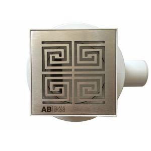 Bathroom Square Drain Meander