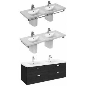 Двойна мивка за баня Connect 130