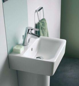 Мивка за баня Connect Cube с отвор без преливник