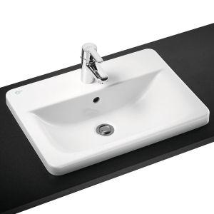 Мивка за баня Connect правоъгънла с отвор