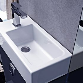 Double vanity washbasin Strada