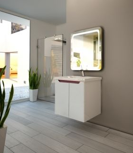 Шкаф за баня с вратички Versa