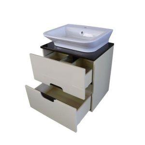 Шкаф за баня с чекмеджета
