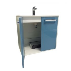 PVC шкаф с мивка Stelo