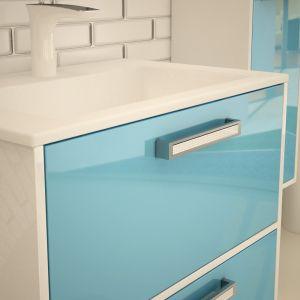 PVC шкаф с мивка Stelo 2C