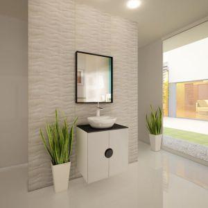 шкаф за баня с мивка Como