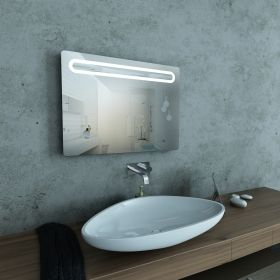 Framed LED Mirror Modena