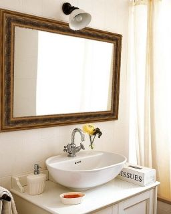 Огледало за баня с рамка Antiqua