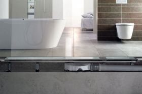 Linear Bathroom Drain Advantix Basic