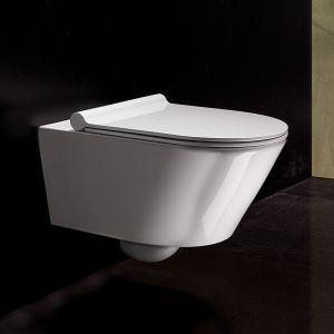 Окачена тоалетна Zero New Flush с капак