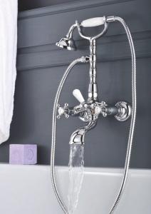 Ретро смесител за вана/душ Belinda с душ