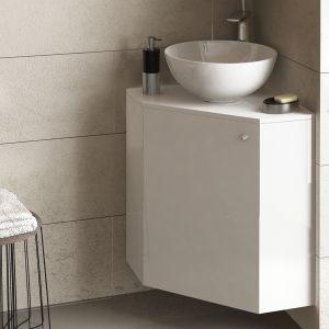 Ъглов горен и долен шкаф за баня Dolce