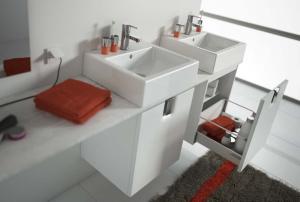 Bathroom Cabinet Twins 50 1 Door