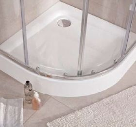 Oval Shower Tray First