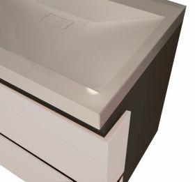 PVC шкаф с мивка Adagio