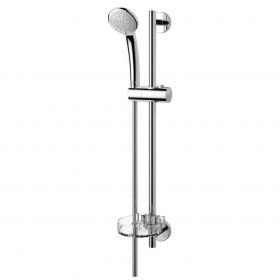 Handheld Shower head with tubular suspension Idealrain Soft S